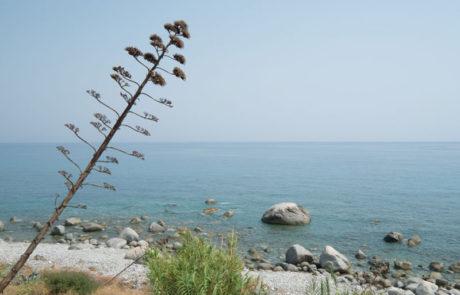 Palizzi Marina - Vista spiaggia più a sud della penisola italiana