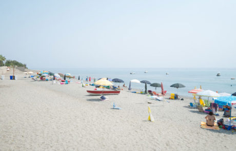 Palizzi Marina - Vista panoramica spiaggia