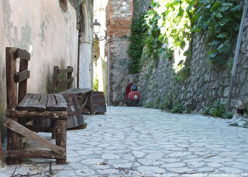 Particolare Borgo Palizzi