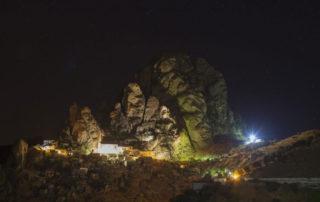 Borgo Pentedattilo notte